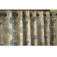 Blue Window Curtains by Best Teal And Beige Ivy Curtain Panels X Grommet By Thehomecentric