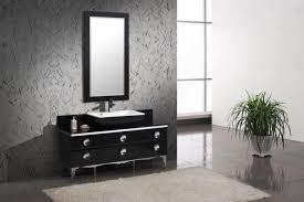 Inexpensive Modern Bathroom Vanities - bathrooms design grey polished wood double sink bathroom