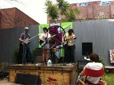 Skwhirlhaus Opens This Weekend An Outdoor Stage For Contemporary - Backyard stage design