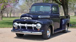 Vintage Ford Truck Colors - 1951 ford f1 pickup classic old vintage retro original usa