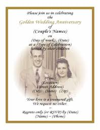 Ruby Anniversary Invitation Cards Printable 50th Wedding Anniversary Invitations With Pic Background