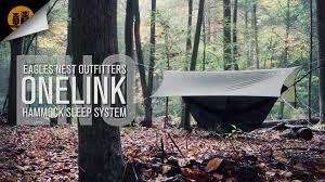 eno onelink hammock system u2022 field review youtube