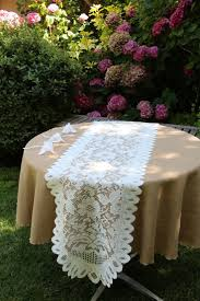 best 25 burlap tablecloth ideas on pinterest table setting