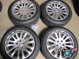 11 cadillac cts four 10 11 cadillac cts coupe factory 18 wheels tires oem rims