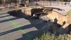 saws plans to reroute sewage to determine sinkhole cause