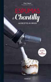 siphon cuisine recette espumas chantilly 160 recettes au siphon délice