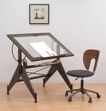 Glass Top Drafting Drawing Table Glass Top Drafting Light Table Drawing Work Desk Tracing