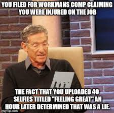 Workers Comp Meme - this is why you don t add your supervisor as a friend on facebook
