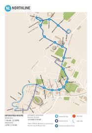 Gold Line Map Northline Connector Parking U0026 Transportation U Va