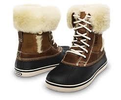 chaussure crocs cuisine s allcast luxe duck boot bottes d hiver pour femmes site