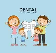dental design dental design blue background vector illustration royalty