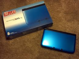 nintendo 3ds xl black friday nintendo 3ds xl unboxing blue black youtube