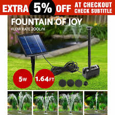 solar garden fountains and ponds home outdoor decoration