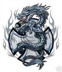tattoo cross dragon indiana tattoos cross dragon tattoo pictures