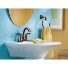 amazon com moen 6410orb eva two handle centerset lavatory faucet