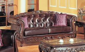 Living Room Leather Furniture Sets by French Provincial Bonded Leather Sofa Family Room Pinterest