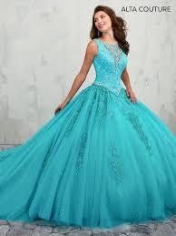 aqua quinceanera dresses lace appliqued 2 quinceanera dress by alta couture mq3003