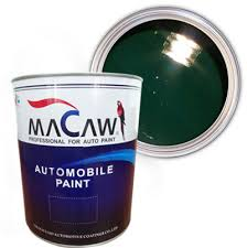 china macaw series basecoat 2k automotive car paint with msds