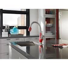 kitchen room lowcost delta kitchen faucets undermount steel new