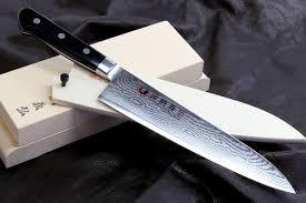 yoshihiro vg 10 33 layers damascus gyuto chefs knife black
