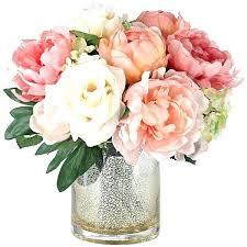 Home Decor Flower Arrangements Large Artificial Flower Arrangements In Vases Home Decor Floral