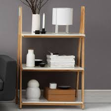 normann copenhagen one step up bookcase low white eclectic cool