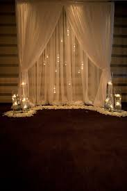 Curtains Wedding Decoration Best 25 Diy Wedding Backdrop Ideas On Pinterest Wedding