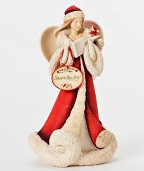 christmas collectibles angels santa claus hanging christmas