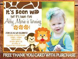 1st birthday invitation wording jungle theme pictures reference