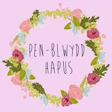 penblwydd hapus welsh u0027happy birthday u0027 card