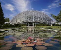 St Louis Botanical Garden Hours Climatron A Geodesic Dome Greenhouse Designed By R Buckminster