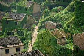 abandoned chinese fishing village tells a tale of nature u0027s triumph