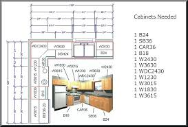 layout of kitchen cabinets impressive kitchen cabinet layout in