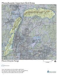 Eastern Massachusetts Map by Site Summary Mount Holyoke Mount Tom East Mountain Range