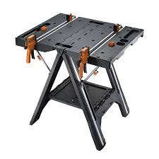 shop worx pegasus 31 in w x 32 in h plastic work bench at lowes com