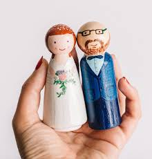 cake topper custom wedding cake topper wooden cake toppers