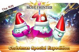 the rift christmas special expedition brave frontier rpg