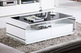 glossy white coffee table high gloss white coffee table with drawers coffee tables ideas top