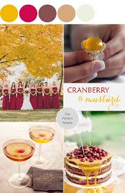 color story cranberry mustard the perfect palette