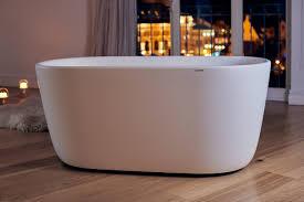 Freestanding Air Tub Aquatica Lullaby Mini Wht Freestanding Solid Surface Bathtub
