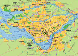 Printable Map Of Las Vegas Strip by Map Of Montreal Quebec Free Printable Maps