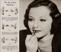 how to create the perfect face u2013 max factor vintage glamour