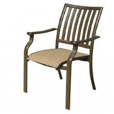 Stackable Sling Chairs Stackable Wicker Chairs Foter