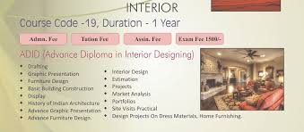 Interior Designer Course by Welcome To Maharishi Dyanand Educational Society