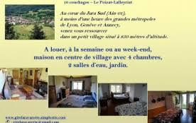 chambre d hote nantua location vacances nantua annonces de location saisonniere seloger