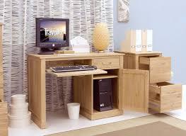 Pedestal Computer Desk Mobel Oak Single Pedestal Computer Desk Co Uk Kitchen Home