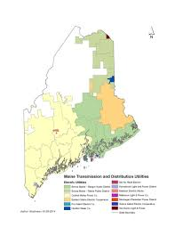 Maine State Map by Delivery Of Electricity Maine Office Of The Public Advocate