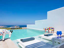 rooms u0026 suites at myconian kyma in mykonos greece design hotels