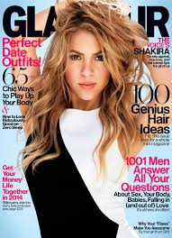 what color is shakira s hair 2015 glamour s february cover star shakira tells us i m not on