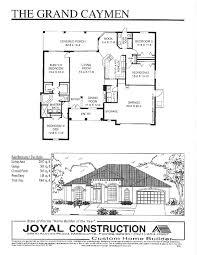 floor plans joyal construction grand cayman